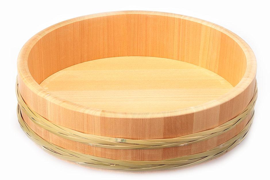 竹箍飯台 36cm *受注生産【代金引換不可】