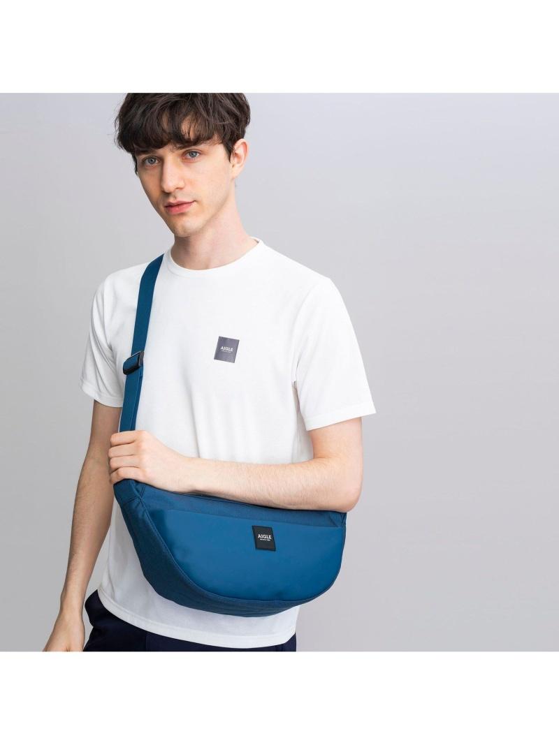 AIGLE ユニセックス バッグ エーグル アーバン バナナ ブラック Fashion Rakuten ショルダーバッグ 送料無料 ブルー 正規品 高級品