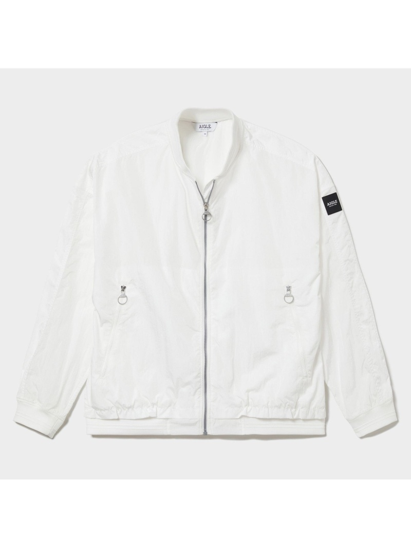 AIGLE レディース 春の新作シューズ満載 コート ジャケット エーグル 撥水 店内限界値引き中 セルフラッピング無料 ナポ ホワイト Fashion ブルゾン 送料無料 Rakuten