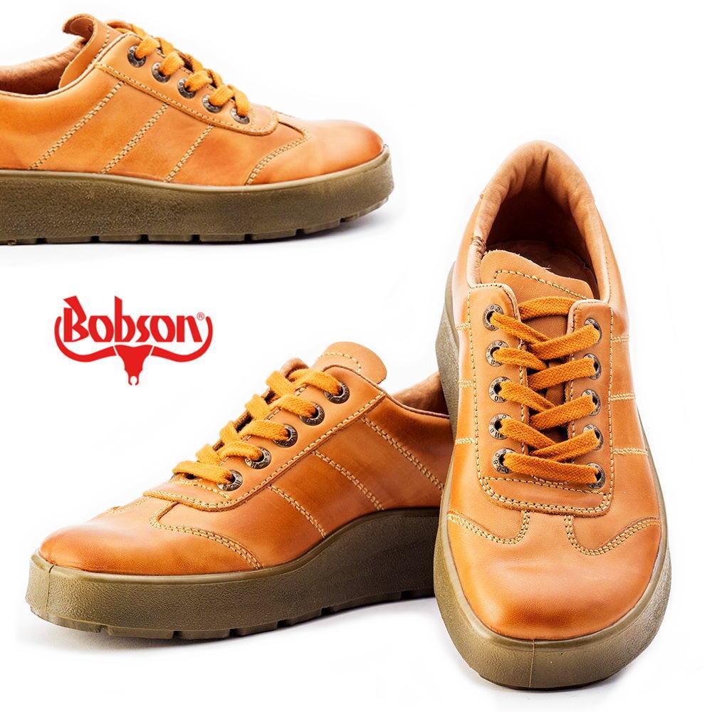 本革/BOBSON(ボブソン)/紐/レースアップ/ウォーキングシューズ/No4401