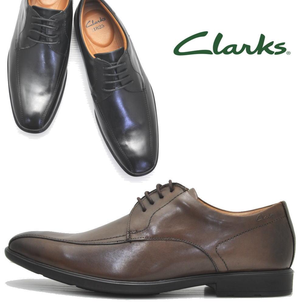 [クラークス] Clarks/正規販売店/メンズ ビジネスシューズ 本革/ワイズG/スワールモカ/冠婚葬祭/26109938-26109940