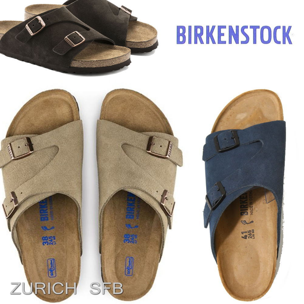 チューリッヒ ZURICH SFB ビルケンシュトック サンダル  BIRKENSTOCK GC1009531 GC1009533 GC1010755