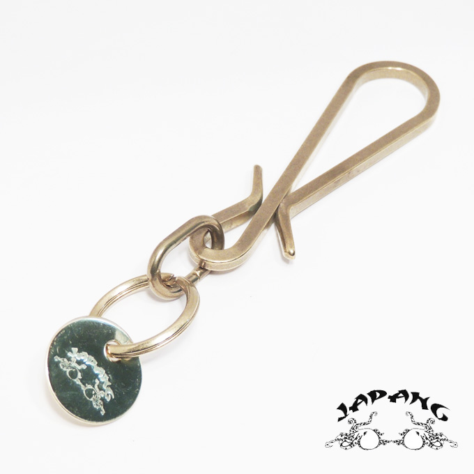 "Brass key hooks ""press! ' ""Leather Octopus-JAPANG""zipangu""Made in JAPAN ★ at 160 yen (non-COD) shipping"