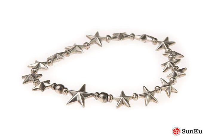 Sanku-39 Star Beads Bracelet Sv Star Beads / SK-141 MADE.IN.JAPAN
