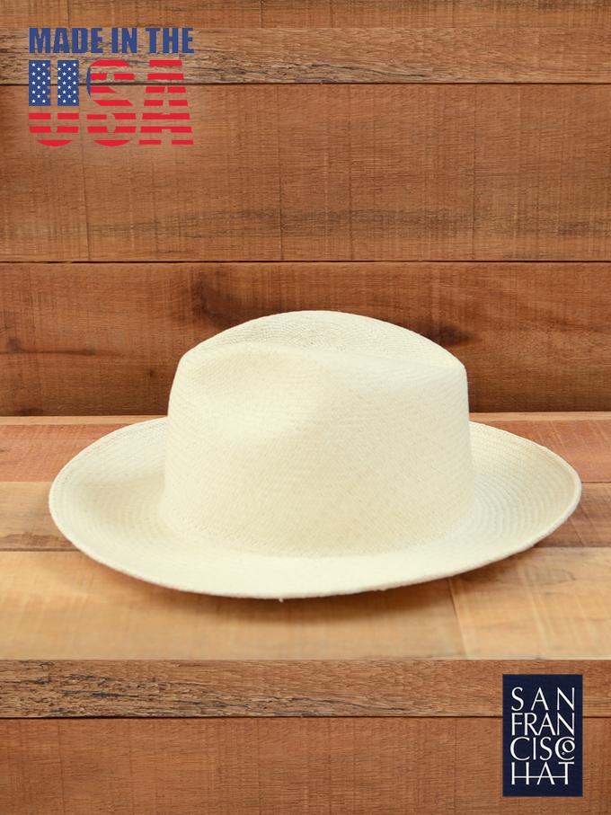 SAN FRANCISCO HAT / PANAMA HAT  Col.WHITE