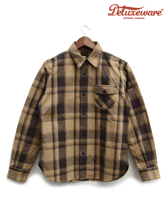 DELUXE WARE(デラックスウェア)WEST MIX CHECK/ HV-31/ Made.In.Japan