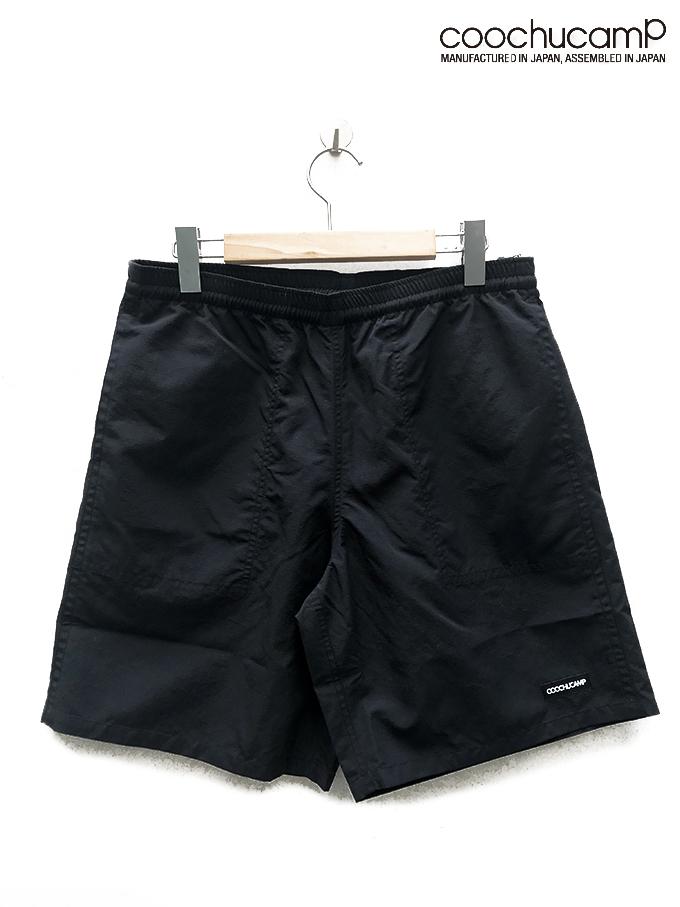 COOCHUCAMP(クーチューキャンプ) Happy Activity Shorts / BLACK/  MADE.IN.JAPAN