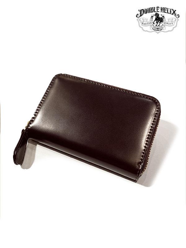 DOUBLE HELIX Coin Case コードバン 小銭・カード入れ Col.WINE 日本製