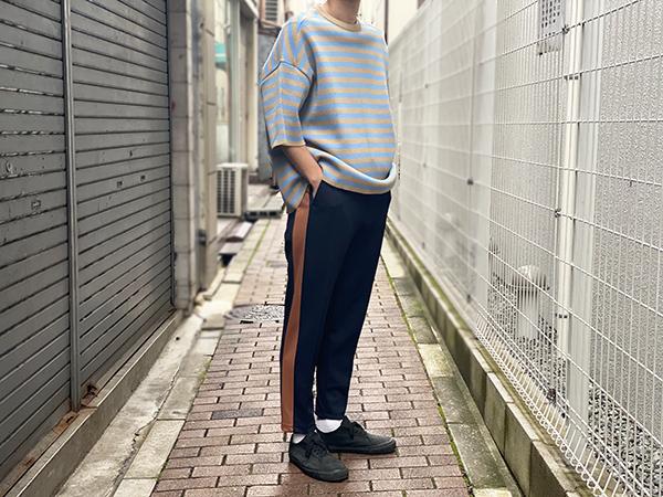 UNITUS / Side Line Pants Navy Lot.UTSSS20-CS04 / MADE.IN.JAPAN
