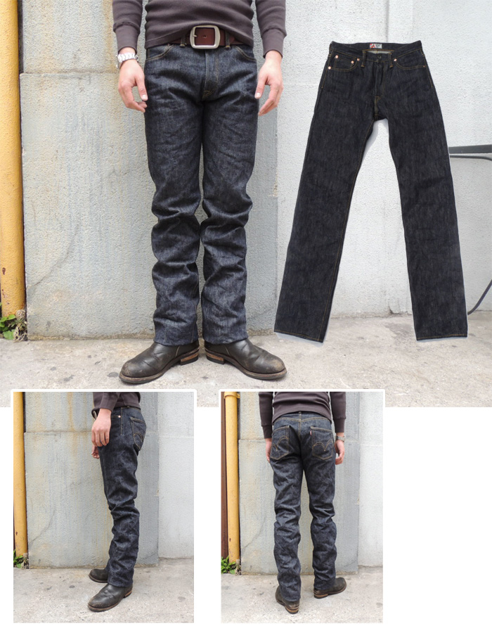 """The SAMURAI JEANS S500XX-19OZ KATANA-HEM 100Pieses Limited Product """"NANIWA SPESIAL""""Tapered straight silhouette MADE in JAPAN"""
