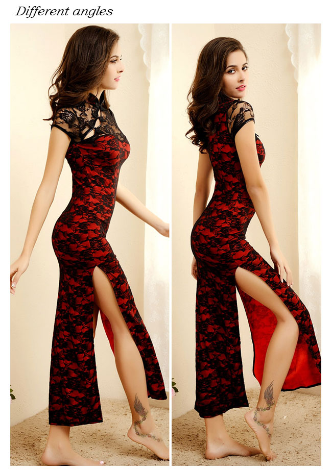 Long dress length
