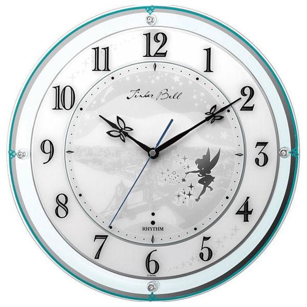 【内祝い お返し】ディズニー 電波掛時計 電波掛時計 ティンカー・ベル【内祝い/グリーン 4MY854MT05<※【出産内祝い/出産祝い/ギフト/結婚内祝い/結婚祝い/入学内祝い/入学祝/結婚式引き出物/法事】>【ギフト・ラッピング無料・おしゃれ かわいい】, 色見本のG&E:5693dc97 --- olena.ca