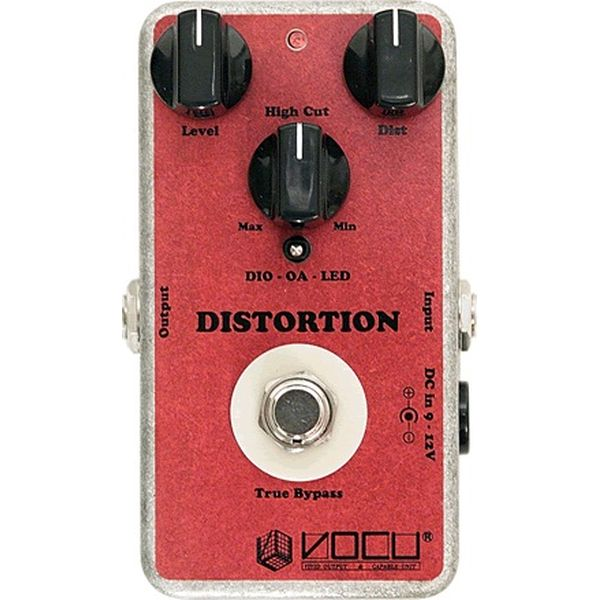 【送料込】VOCU/ヴォーキュ 3Mode Distortion Hand Wiring Mode Selectable Modern Gain Distortion【smtb-TK】
