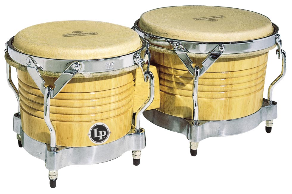 【送料込】LP M201-AWC(Natural/Chrome)Matador Wood Bongos/ボンゴ ラテンパーカッション Latin Percussion【smtb-TK】