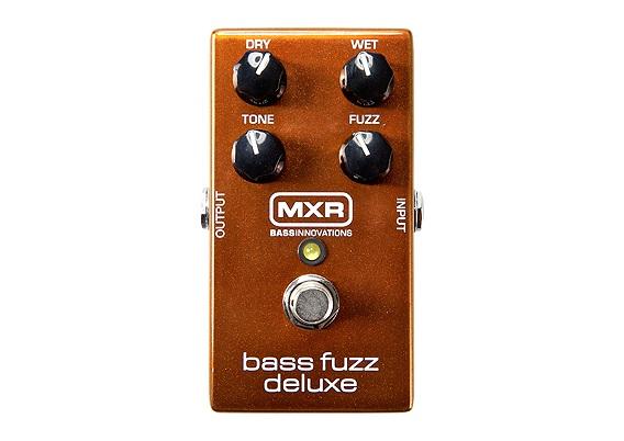 MXR M84 Bass Fuzz Deluxe トゥルーバイパス仕様