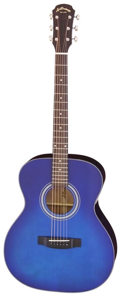 【送料込】【ケース付】ARIA/アリア AF-201 BLS トップ単板 アコースティックギター【smtb-TK】