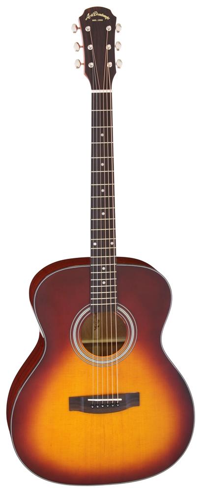 【送料込】【ケース付】ARIA/アリア AF-201 LH TS レフトハンド トップ単板 アコースティックギター 左利き用【smtb-TK】