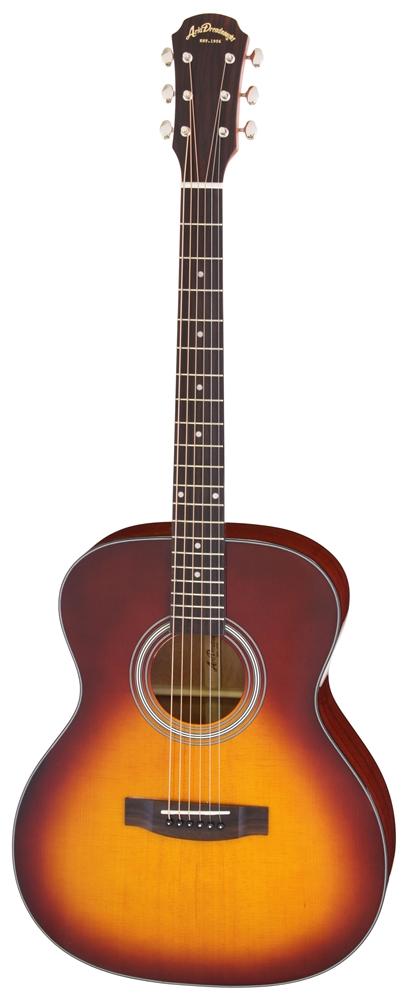 【送料込】【ケース付】ARIA/アリア AF-201 TS トップ単板 アコースティックギター【smtb-TK】
