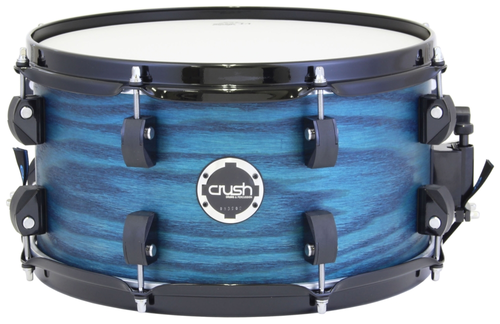 【送料込】Crush/クラッシュ C2AS13X7 205 Trans Blue CHAMELEON ASHシリーズ スネアドラム【smtb-TK】