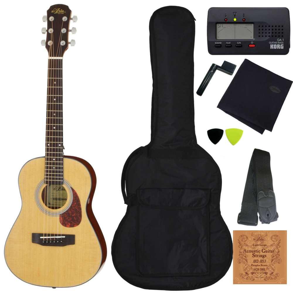 【送料込】【定番8点セット】ARIA アリア ADF-01 1/2 N Natural 530mmスケール ミニ・フォークギター【smtb-TK】, An-Zee:3b1e7e68 --- yasuragi-osaka.jp