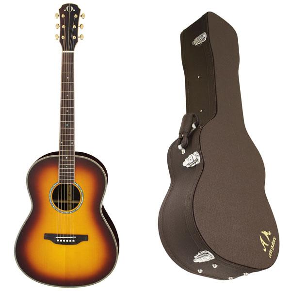 【送料込】【ハードケース付】ARIA/アリア MSG-05/BS オール単版 アコースティックギター【smtb-TK】