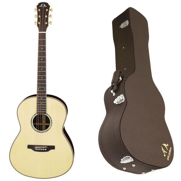 【送料込】【ハードケース付】ARIA/アリア MSG-05/N オール単版 アコースティックギター【smtb-TK】