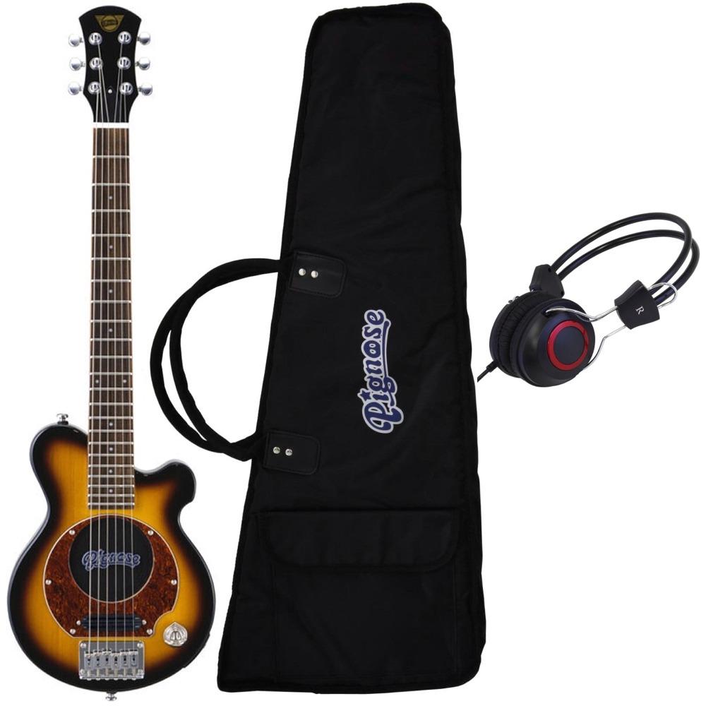 【送料込】【ヘッドホン付】Pignose ピグノーズ PGG-200 BS アンプ内蔵ギター【smtb-TK】