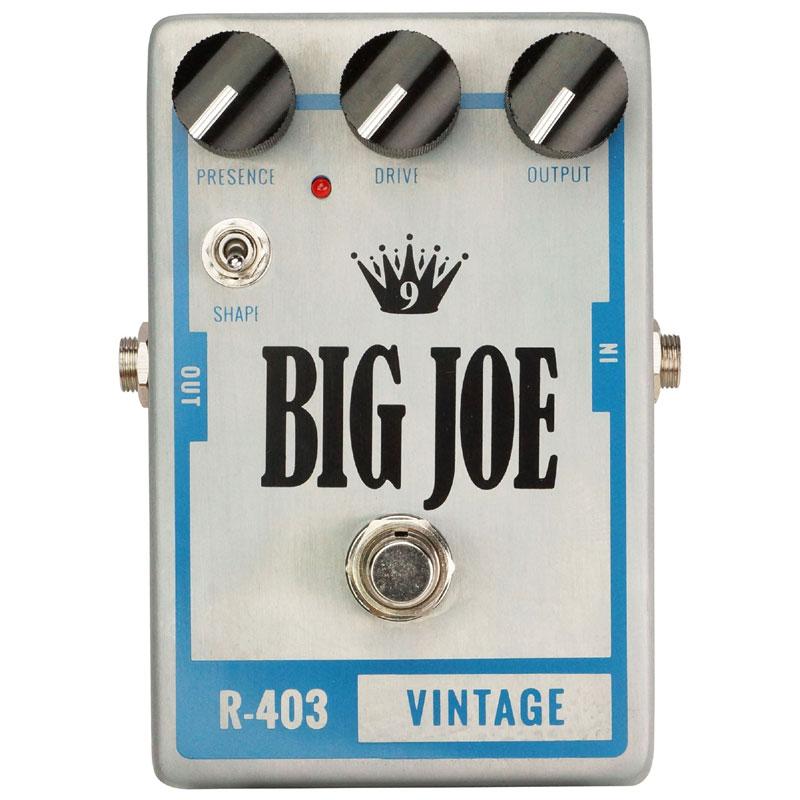 【送料込】BIG JOE/ビッグジョー R-403 VINTAGE オーバードライブ/ディストーション【smtb-TK】