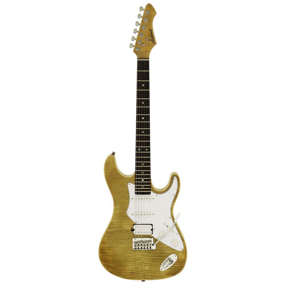 送料込 迅速な対応で商品をお届け致します ギグバッグ付 AriaProII アリアプロツー 714-AE200 Yellow 新生活 YG smtb-TK エレキギター Gold