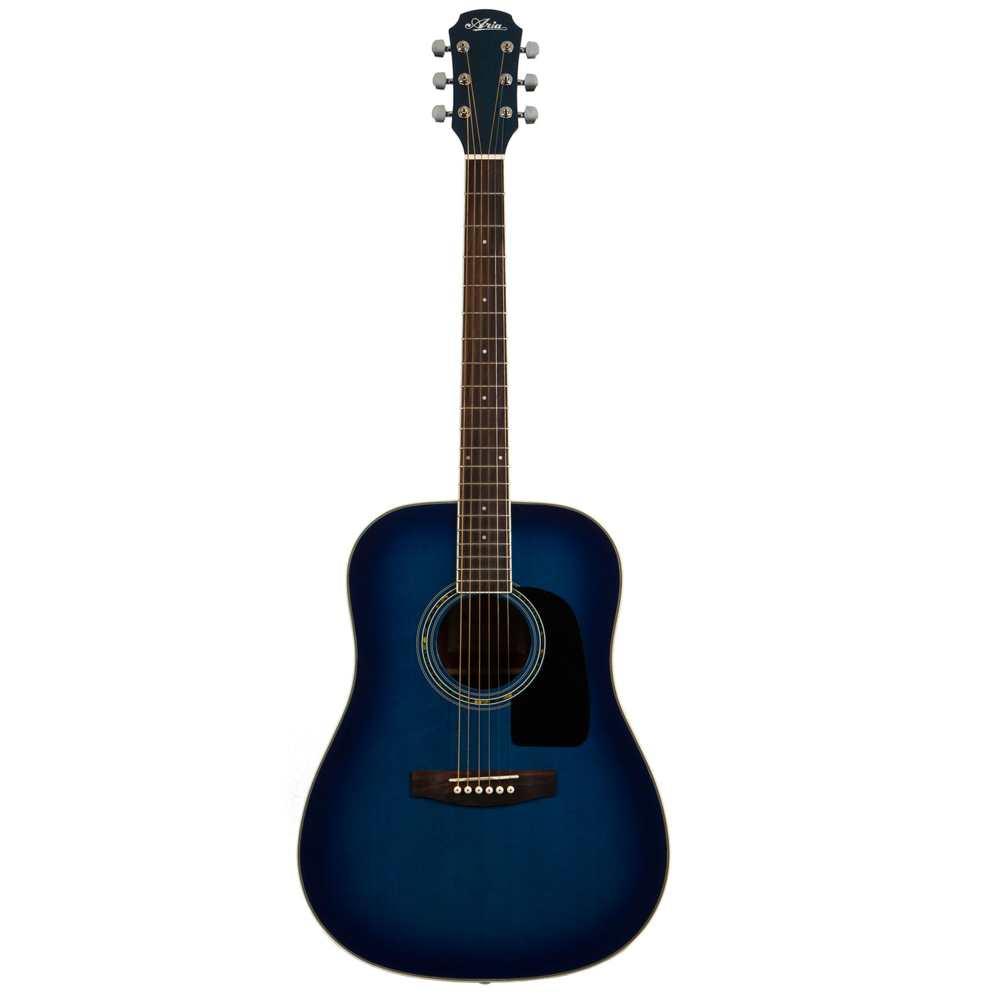 【送料込】ARIA アリア AD-18/BLS ドレッドノートタイプ アコースティックギター 入門用 フォークギター 【smtb-TK】