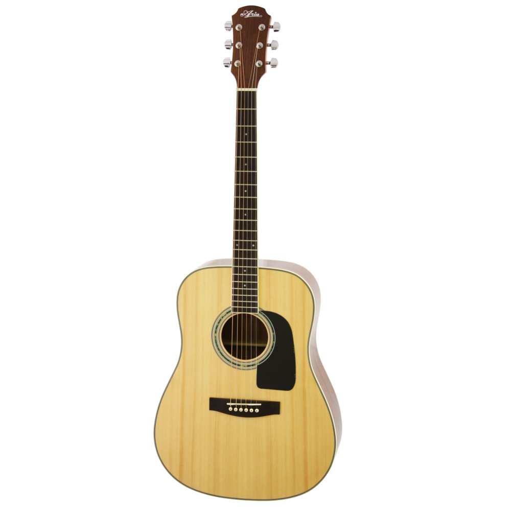 【送料込】ARIA アリア AD-18/N ドレッドノートタイプ アコースティックギター 入門用 フォークギター 【smtb-TK】