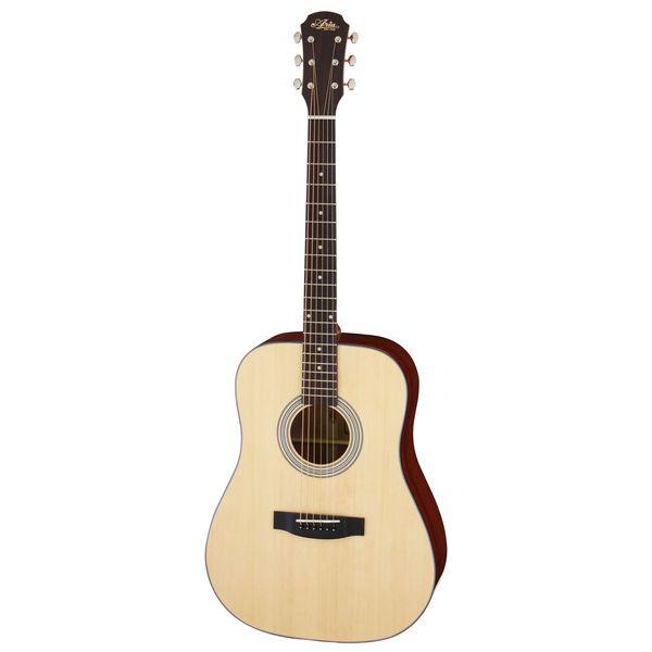 【送料込】【ケース付】ARIA アリア Aria-211 N Natural ドレッドノートタイプ アコースティックギター 【smtb-TK】
