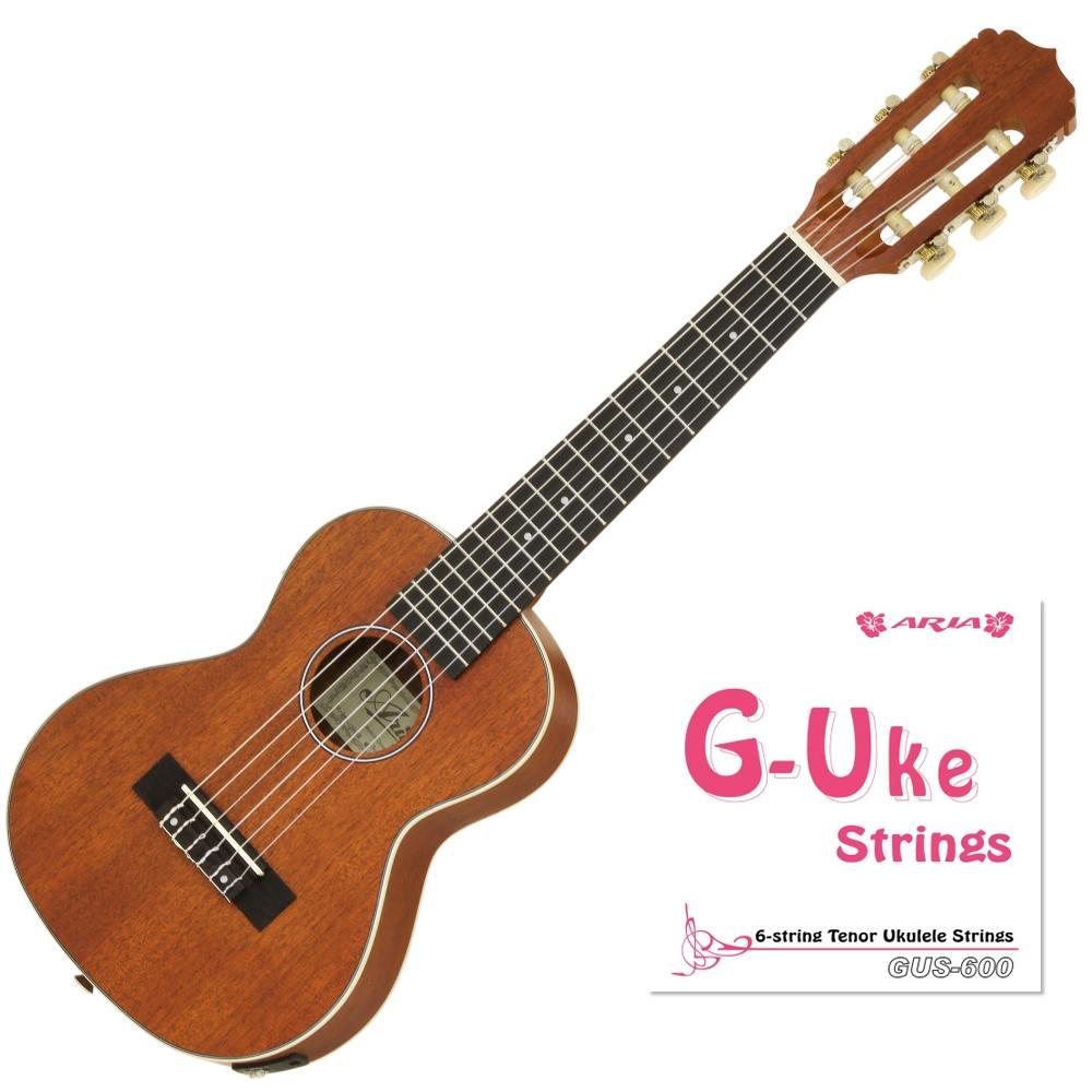 【送料込】アリア ARIA ATU-120 Electric/6E G-Uke G-Uke Electric ピックアップ搭載/ジーユーク=テナーウクレレ+6弦=ギタレレ(スペア弦 ARIA/ソフトケース付)【smtb-TK】, ナカムラク:7b4e6291 --- sunward.msk.ru