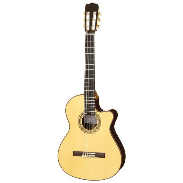 【送料込】【セミハードケース付】Jose Ramirez ホセ・ラミレス CUT 2/Spr スプルース・トップ Estudio Model クラシックギター ピックアップ搭載 【smtb-TK】