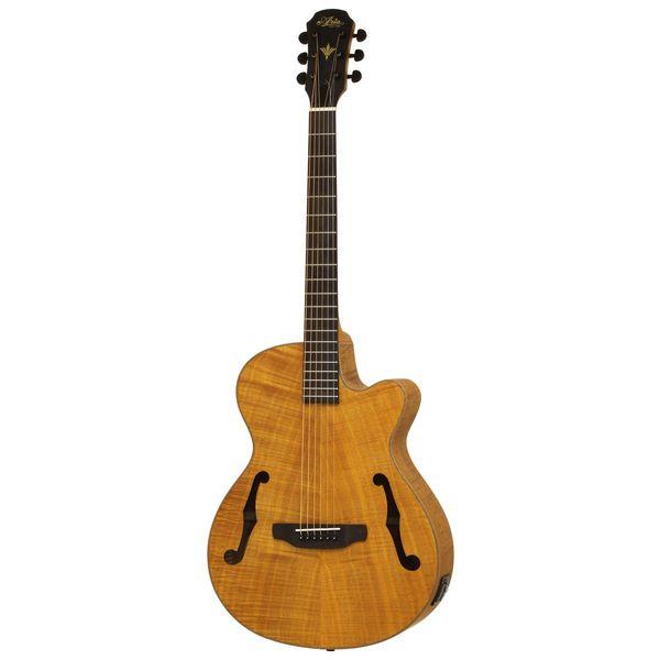 【送料込】【ケース付】ARIA アリア FET-F2 STBR Stained Brown エレクトリック・アコースティック ギター エレアコ 【smtb-TK】