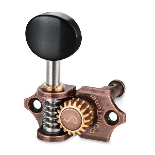 【送料込】Schaller シャーラー GTU VC42(L2R2) GTU VC42(L2R2) [Vintage【送料込】Schaller Copper/Ebony(ボタン)] ウクレレ用ペグ(糸巻き)セット【smtb-TK】, HBLT:65a657d2 --- sunward.msk.ru