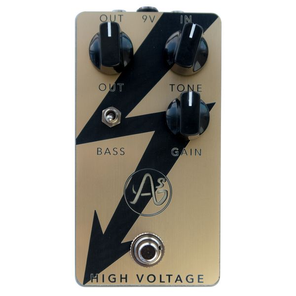【送料込】ANASOUNDS アナサウンド HIGH VOLTAGE/G Gold - PLEXI DISTORTION PEDAL ? ディストーション【smtb-TK】