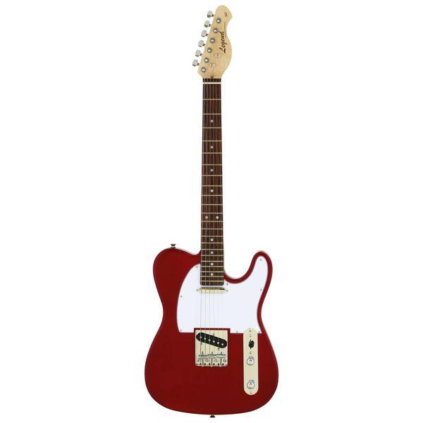 【送料込】【ケース付】Legend レジェンド LTE-Z/CA Candy Apple Red エレキギター 【smtb-TK】