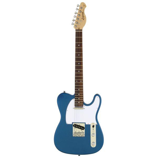 【送料込】【ケース付】Legend レジェンド LTE-Z/MBL Metallic Blue エレキギター 【smtb-TK】