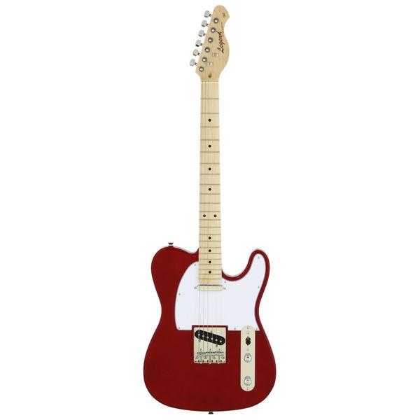 【送料込】【ケース付】Legend レジェンド LTE-Z M/CA Candy Apple Red エレキギター 【smtb-TK】