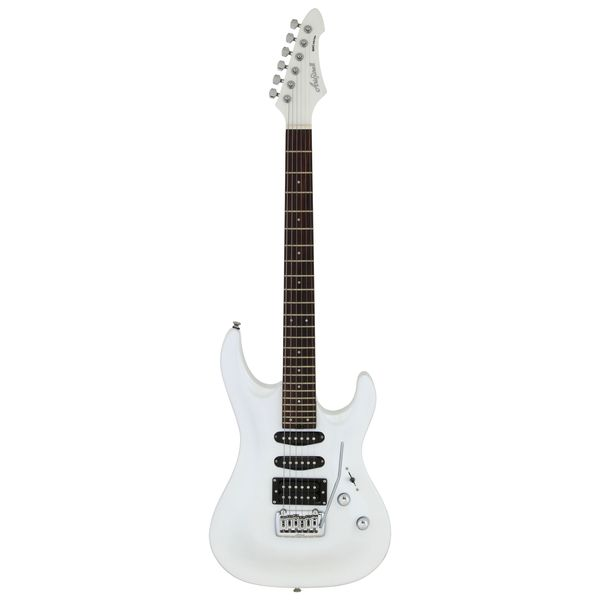 【送料込】AriaProII アリアプロツー MAC-STD PWH Pearl White エレキギター【smtb-TK】