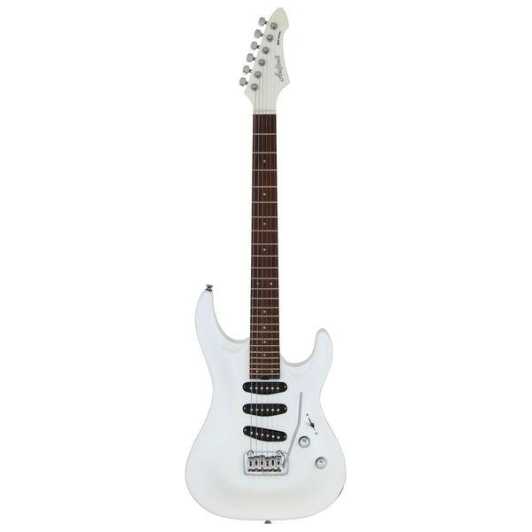 【送料込】AriaProII アリアプロツー MAC-STD/S PWH Pearl White エレキギター 【smtb-TK】