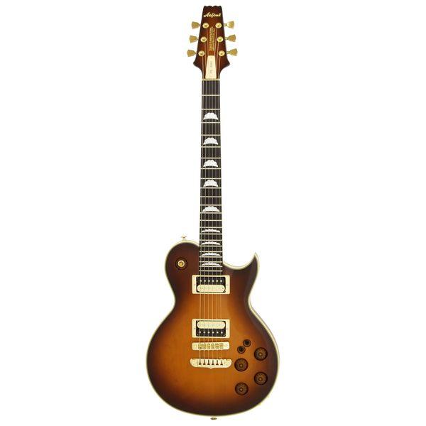 【送料込】【ハードケース付】AriaProII アリアプロツー PE-R80/JB Japan Brown エレキギター【smtb-TK】