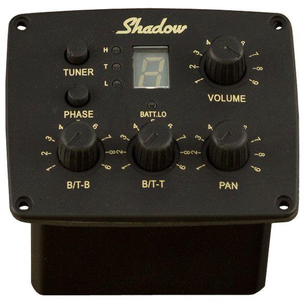 【送料込】Shadow シャドウ SH 4030 A アコースティックギター用ステレオプリアンプ w/ パナフレックスピックアップ【smtb-TK】