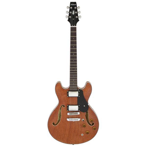 【送料込】【ケース付】AriaProII アリアプロツー TA-TR1 STBR Brown,Matt セミアコースティック ギター セミアコ【smtb-TK】