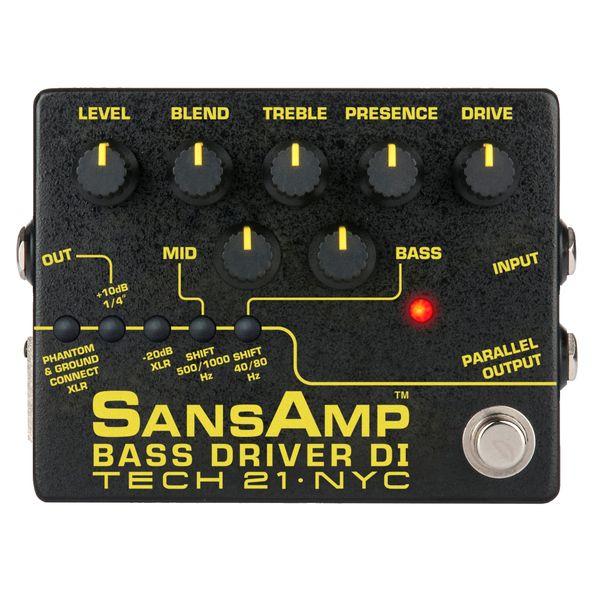 【送料込】【国内正規品】TECH21 Sans Amp BASS DRIVER DI V2 ベース用 プリアンプ / DI 【smtb-TK】