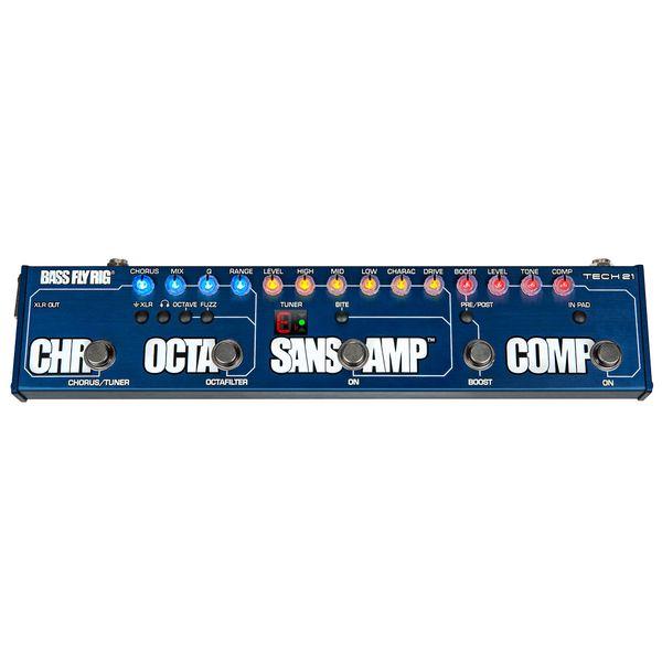 【送料込】【正規輸入品】TECH21 Sans Amp Bass FLY RIG サンズアンプ ベース用 マルチエフェクター【smtb-TK】