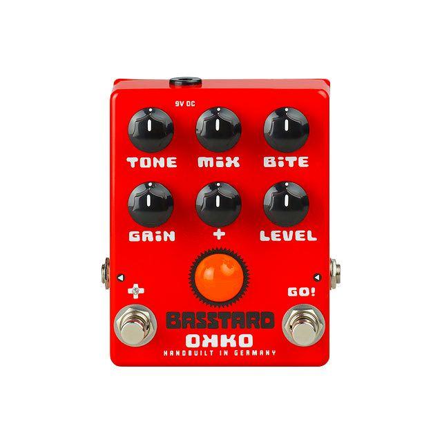 【特典付】【送料込】OKKO/オッコー BASSTARD ベース用 オーバードライブ ペダル【smtb-TK】