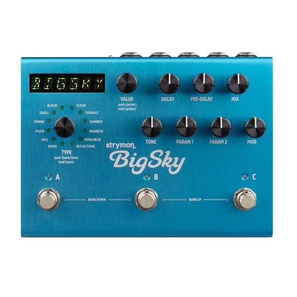 【送料込】Strymon/ストライモン BigSky REVERB unit with MIDI Preset ビッグスカイ/リバーブ・マシーン【smtb-TK】