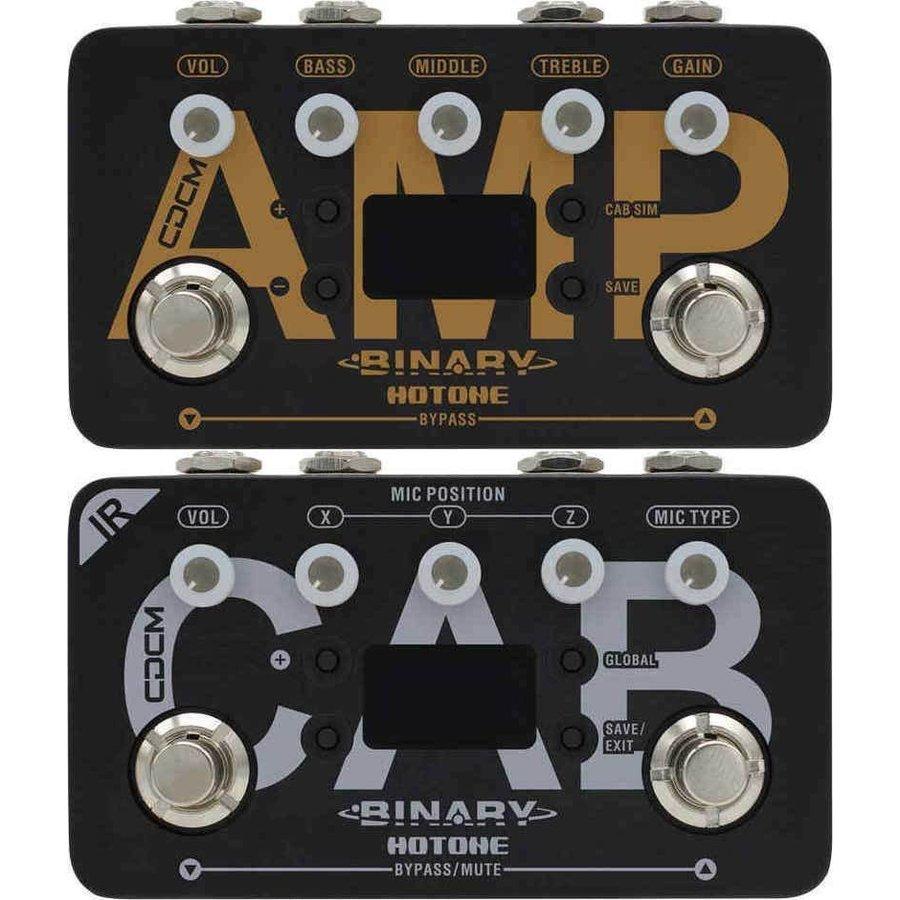 【送料込】HOTONE ホットトーン BINARY AMP + BINARY IR CAB アンプ・シミュレーター + キャビネット・シミュレーター【smtb-TK】
